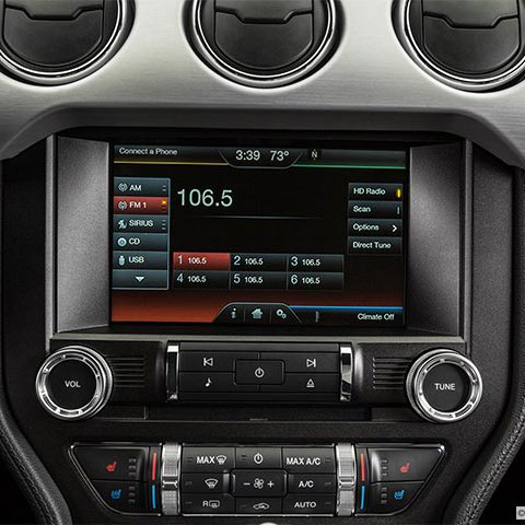 Ford European Oem Conversion Sd Card Radio For Sync   Mustang